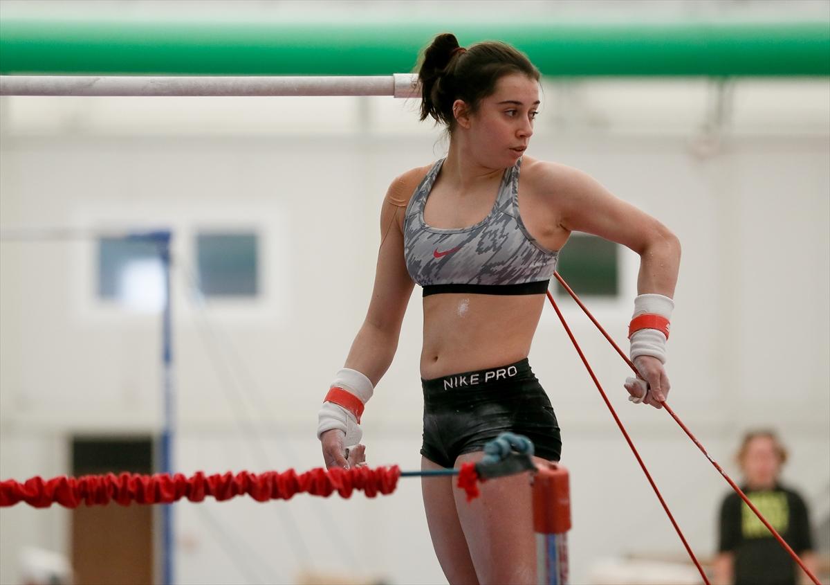 Milli cimnastikçiler Kadınlar Avrupa Şampiyonası'nda en az 3 madalya hedefliyor