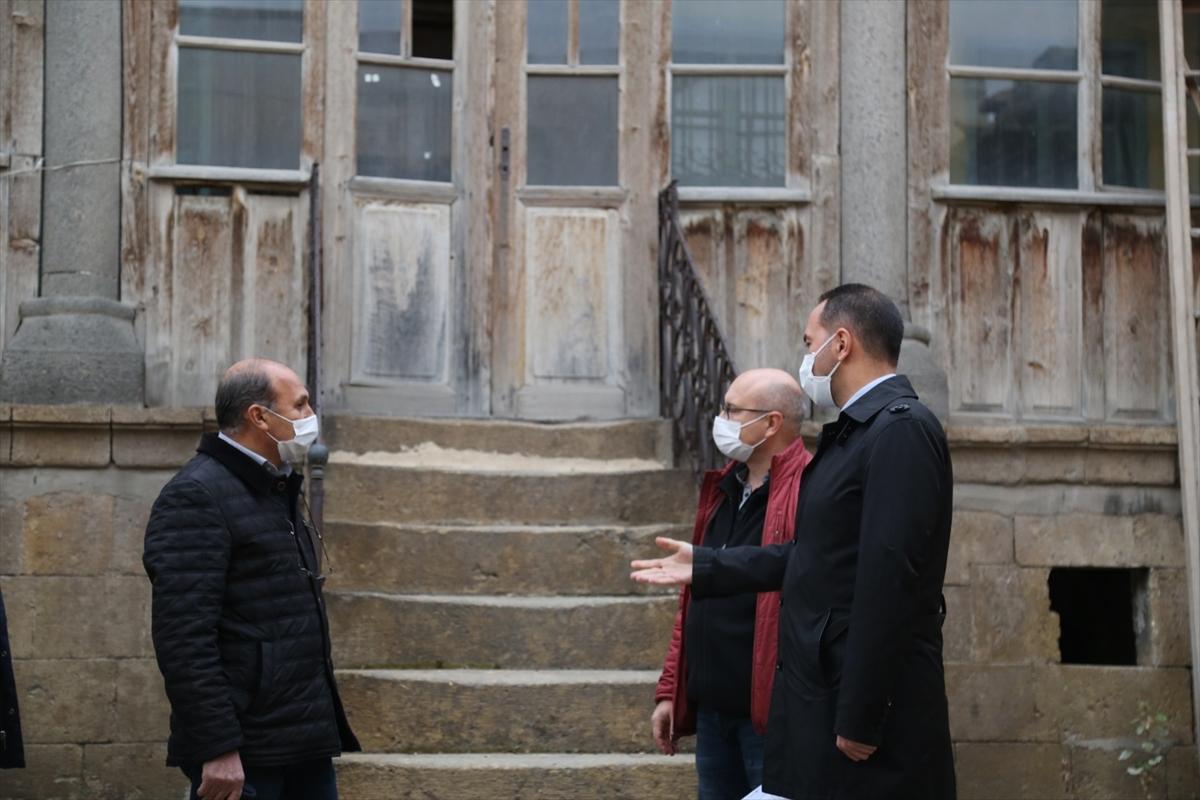 Niğde'de tarihi Kadıoğlu Konağı turizme kazandırılacak