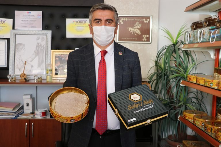 """Şırnak'ta terörden arındırılan yaylalarda üretilen ballar """"Faraşin"""" adıyla markalaşacak"""