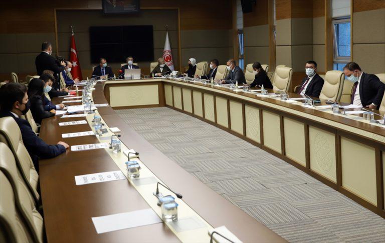 TBMM Dijital Mecralar Komisyonu toplandı