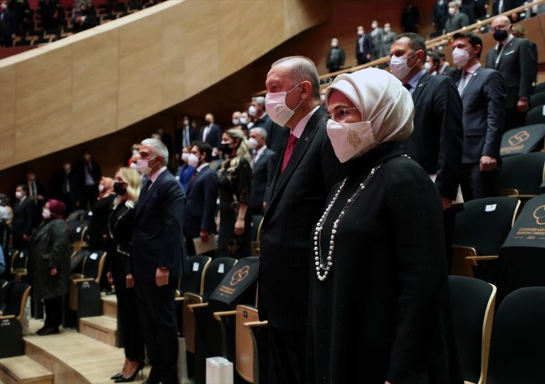 Cumhurbaşkanı Erdoğan, CSO Konser Salonu Açılış Töreni'nde konuştu: (2)