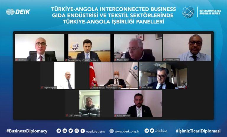 Türkiye ile Angola arasında iş birliği fırsatları değerlendirildi